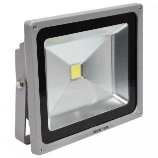 YATO COB LED Scheinwerfer 50 W silbern YT-81806
