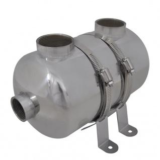 Pool-Wärmetauscher 292 x 134 mm 28 kW