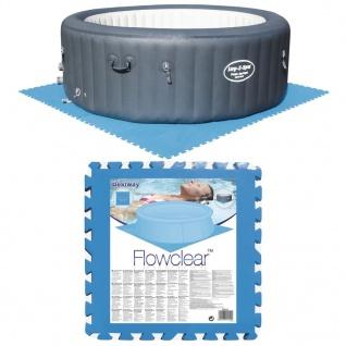Bestway Pool-Bodenschutz 8 Stk. Blau 58220