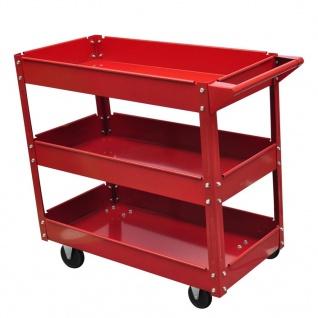 Werkstattwagen 3 Ablagen 100 kg
