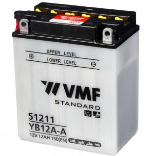 VMF Powersport Batterie 12 V 12 Ah YB12A-A/12N12A-4A-1