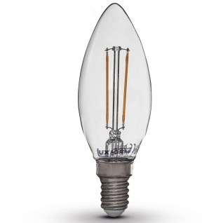Luxform LED Glühbirnen Kerzenform Kerzenlampen 4W E14 230V 2200K 4 St.