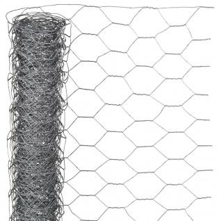 Nature Sechseckgeflecht 1x5 m 40 mm Verzinkter Stahl