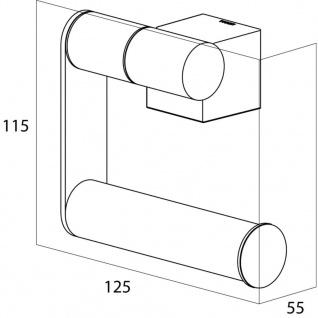Tiger Toilettenpapierhalter WC-Rollenhalter Nomad Chrom 249030346 - Vorschau 3
