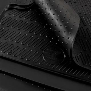 vidaXL Gummi-Fußmatten-Set 4-tlg. für VW Polo Ibiza - Vorschau 2