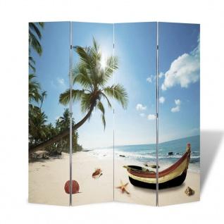 Foto-Paravent Paravent Raumteiler Strand 160 x 180 cm - Vorschau 4
