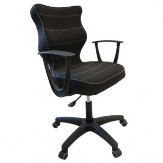 Good Chair Ergonomischer Bürostuhl NORM Schwarz BA-B-6-B-C-FC01-B