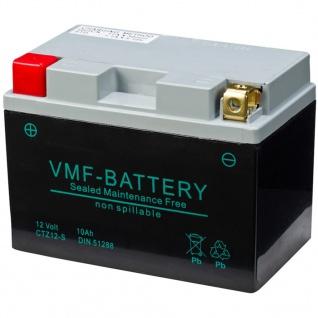 VMF Powersport AGM Batterie 12 V 10 Ah FA YTZ12-S