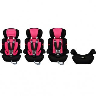 Auto-Kindersitz Kindersitz rosa - Vorschau 5