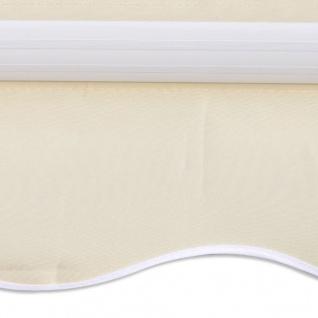 Sonnendach Sonnenschutz Creme 3x2, 5 (Rahmen nicht enthalten) - Vorschau 3