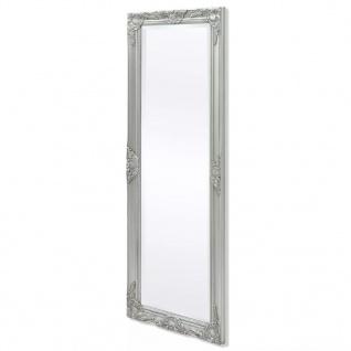 vidaXL Wandspiegel im Barock-Stil 140x50 cm Silber