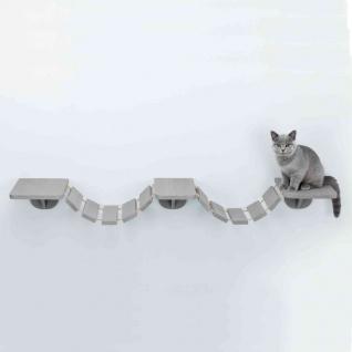 TRIXIE Wandmontierte Katzenkletterleiter 150 x 30 cm Taupe