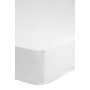 Emotion Spannbettlaken Jersey 180x220 cm Weiß 0200.00.47