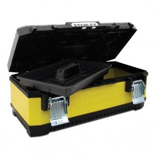 Stanley Werkzeugbox Metall-Kunststoff 26 Zoll Toolbox Werkzeugkasten
