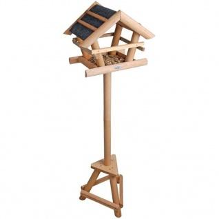 Esschert Design Bitumen-Vogelhaus mit Geschenkbox FB255