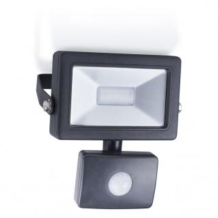Smartwares LED-Flutlichtstrahler mit Sensor 10 W Schwarz SL1-B10B