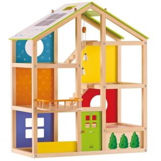 Hape Vier-Jahreszeiten-Haus ohne Zubehör E3400