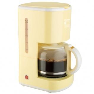 Bestron Kaffeemaschine 1080 W Vanillegelb ACM300EVV - Vorschau 2