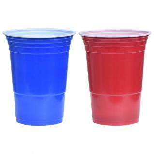 vidaXL Beer-Pong Set 0, 5 L Kunststoff - Vorschau 5