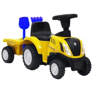 vidaXL Kindertraktor New Holland Gelb