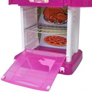 Kinderküche Spielküche mit Licht- und Soundeffekten Rosa - Vorschau 5