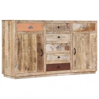 vidaXL Sideboard 150 x 40 x 85 cm Massivholz Mango