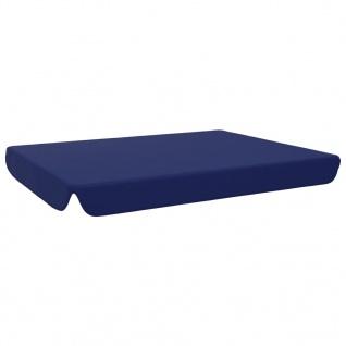 vidaXL Ersatzdach für Gartenschaukel Blau 192x147 cm