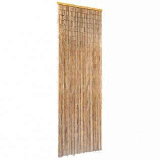 vidaXL Insektenschutz Türvorhang Bambus 56 x 185 cm