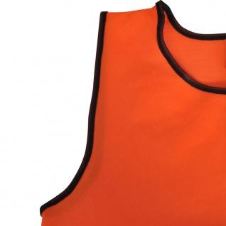 Orange Sportsshirts Sportweste für Kinder 10 Stück - Vorschau 4