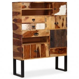 vidaXL Sideboard Sheesham-Holz Massiv 100 x 30 x 130 cm