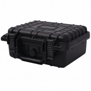 vidaXL Universalkoffer 27x24, 6x12, 4 cm Schwarz