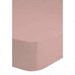HIP Spannbettlaken 100 x 200 cm Hellrosa