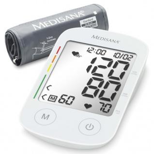 Medisana Oberarm-Blutdruckmessgerät BU 535 Weiß