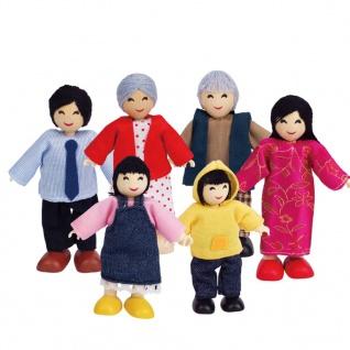 Hape Glückliche Puppenfamilie Asiatisch E3502