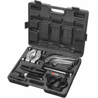 KS Tools 22-tlg. Hydraulischer Abziehersatz 2- und 3-armig 700.1200