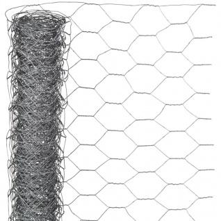 Nature Sechseckgeflecht 0, 5x10 m 40 mm Verzinkter Stahl