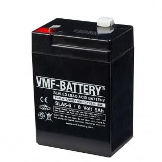 VMF AGM Batterie Standby und Zyklisch 6 V 5 Ah SLA5-6