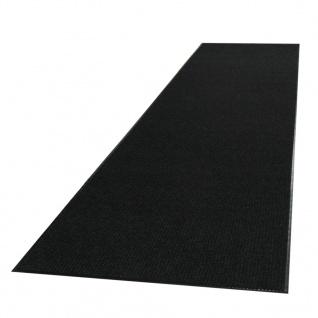 vidaXL Rutschfeste Fußmatte mit Vinyl-Unterseite 1, 2 x 10 m Schwarz - Vorschau 4