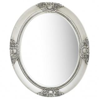 vidaXL Wandspiegel im Barock-Stil 50 x 60 cm Silbern