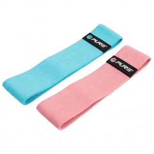 Pure2Improve Fitnessband-Set Blau und Rosa