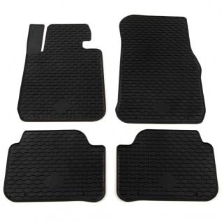 vidaXL Gummi-Fußmatten-Set 4-tlg. für BMW 1er-Reihe (F20)