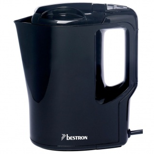 Bestron Wasserkocher 0, 9 L 500 W Schwarz AWK810