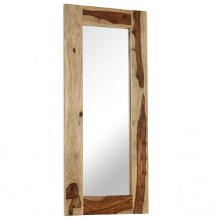 vidaXL Spiegel Massivholz 50 x 110 cm