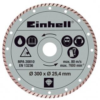 Einhell Turbo Diamant-Trennscheibe 300 x 25, 4 mm für RT-SC 920 L