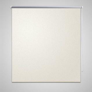 Verdunkelungsrollo 100 x 230 cm weiß
