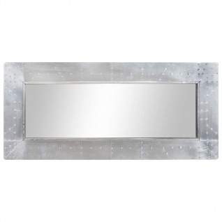 vidaXL Aviator-Spiegel 110x50 cm Metall - Vorschau 4