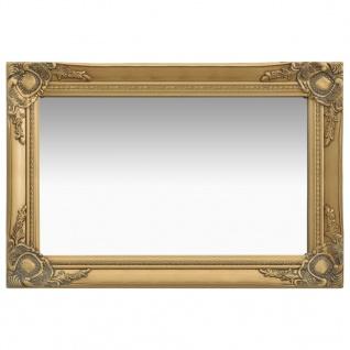 vidaXL Wandspiegel im Barock-Stil 60 x 40 cm Golden