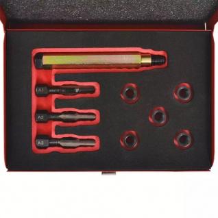 vidaXL Glühkerzengewinde-Reparaturset 9-tlg. M8 x 1, 0 mm - Vorschau 3