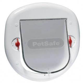 PetSafe 4-fache Haustierklappe 280 Weiß 5001