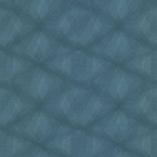 couleurs & matières Tapete Diamond Lines Blau - Vorschau 2